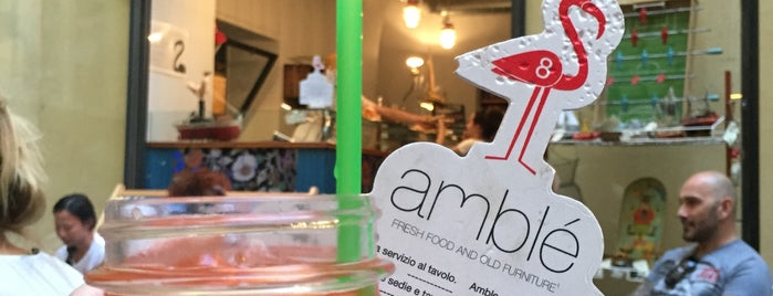 Amblé is one of The 15 Best Places for Healthy Food in Florence.
