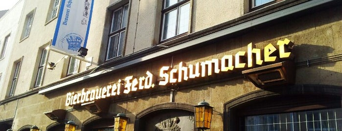 Brauerei Schumacher Stammhaus is one of Pubs - Brewpubs & Breweries.