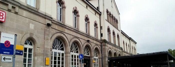 Tübingen Hauptbahnhof is one of Bahnhöfe Deutschland.