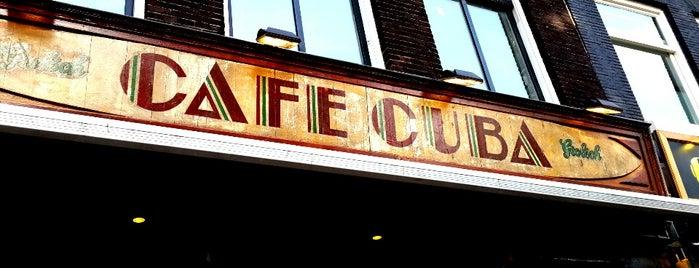 Café Cuba is one of Free WiFi Amsterdam.