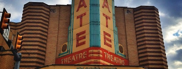 State Theater is one of Ann Arbor bucket list.