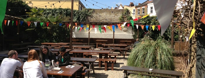 The Stag is one of London's Best Beer Gardens.