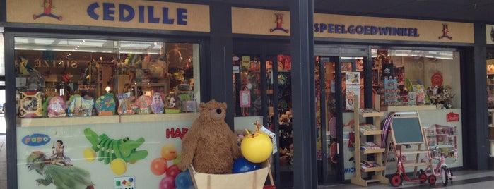 Cedille Speelgoedwinkel is one of Kids Guide. Amsterdam with children 100 spots.