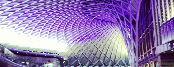 London King's Cross Railway Station (KGX) is one of Harry Potter sights.