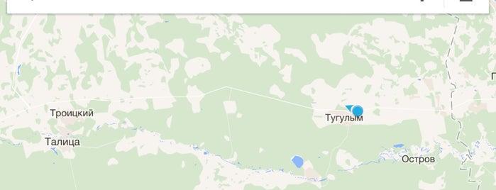 Ж/д станция Тугулым is one of Транссибирская магистраль.