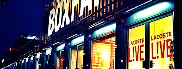 BOXPARK Shoreditch is one of East London.