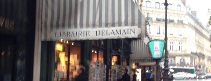 Librairie Delamain is one of Les petites boutiques.