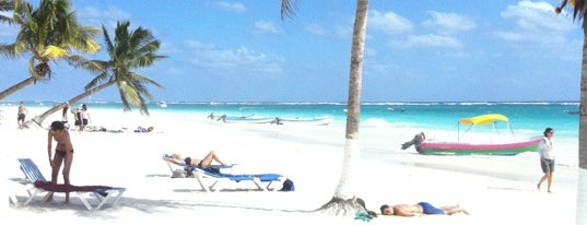 Playa Paraiso is one of Tulum.