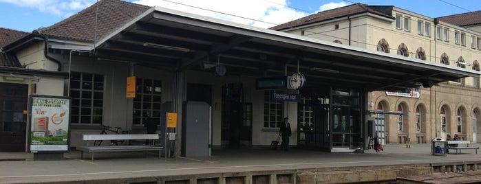 Tübingen Hauptbahnhof is one of Ausgewählte Bahnhöfe.