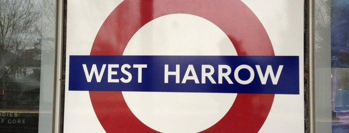 West Harrow London Underground Station is one of Tube Challenge.
