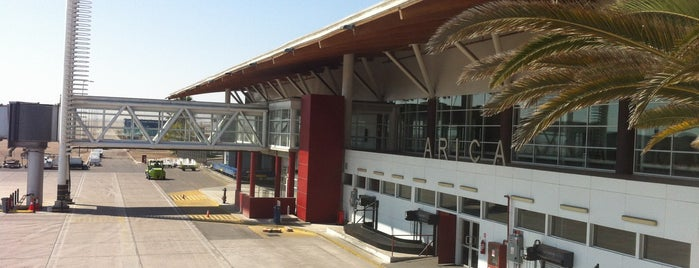 Aeropuerto Chacalluta (ARI) is one of Airports in US, Canada, Mexico and South America.