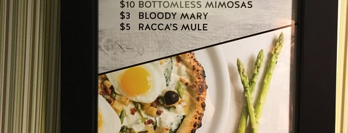 Racca's Pizzeria is one of Denver Dining Out Passbook 2016.