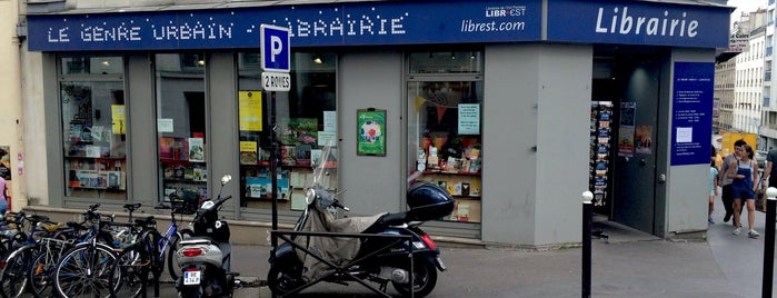 Le Genre Urbain is one of Libraries and Bookshops.