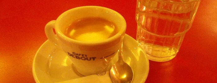 Cafes Debout is one of MRS.