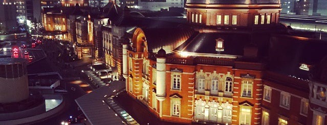 Tokyo Station is one of Letty's list.