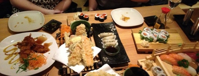 Musashi Noodles & Sushi Bar is one of Dublin.