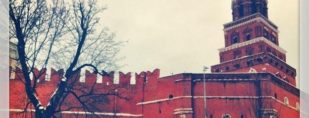 Боровицкая башня is one of М..