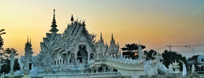Wat Rong Khun is one of Places in the world.