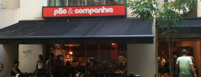 Pão & Companhia is one of Melhores Confeitarias, Padarias, Cafés do RJ.