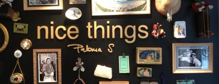 Nice Things is one of shopping bcn.