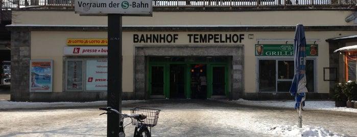 S+U Tempelhof is one of Besuchte Berliner Bahnhöfe.