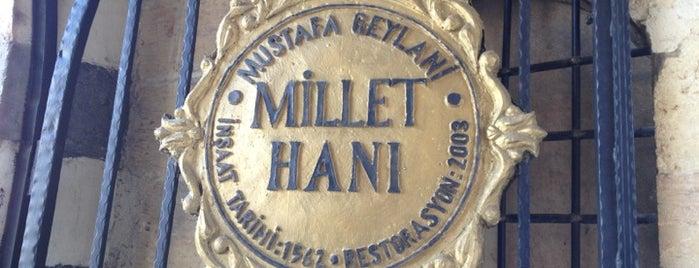 Tarihi Millet Hanı is one of Gaziantepte Görülecekler.