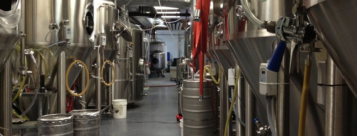 The Alchemist Cannery is one of New England Breweries.