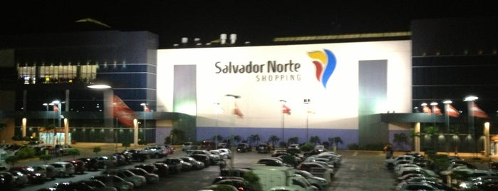 Salvador Norte Shopping is one of Places.