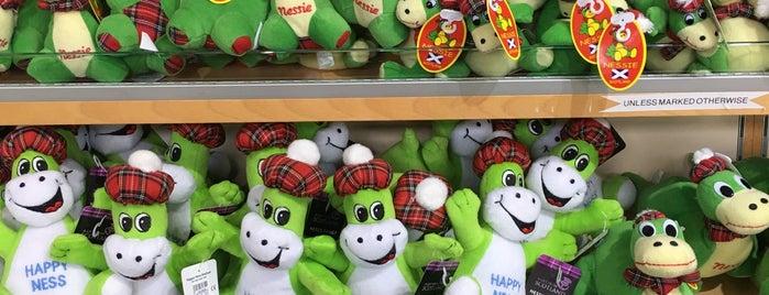 Loch Ness Nessie Shop is one of Scotland.