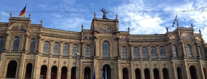 Bayerischer Landtag is one of Munich Sights.