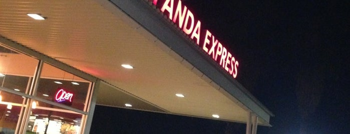 Panda Express is one of Places I've been or go to..