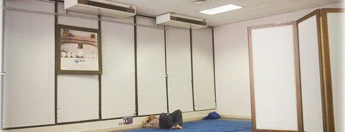 Prayer Room is one of มัสยิด, บาลาเซาะฮฺ, สถานที่ละหมาด.