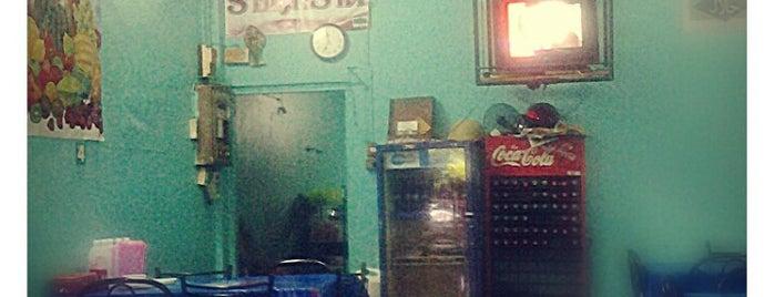 ร้านมาราตี ข้างแกง+ตามสั่ง is one of ร้านอาหารมุสลิม.