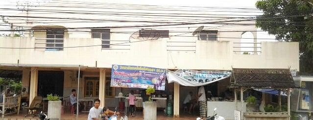 ร้านโรตี+โจ๊ก+ข้าวยำ+นำ้ชา ตรงข้ามทางเข้ามัสยิดคลองลึก is one of ร้านอาหารมุสลิม.