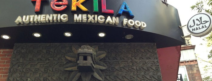 特其拉墨西哥餐厅 TEKILA Mexican Bar & Restaurant is one of Restaurants in Guangzhou.