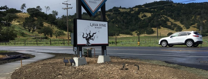 Lava Vine Tasting Room is one of Beyond the Peninsula.