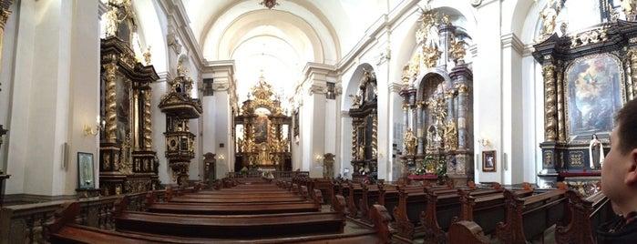 Kostel Panny Marie Vítězné is one of Prague.