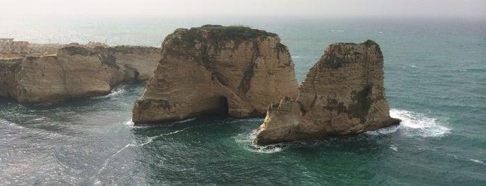 Pigeon Rocks is one of Beirut, Lebanese.