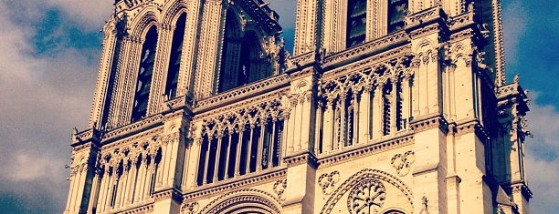 Cathédrale Notre-Dame de Paris is one of Paris.