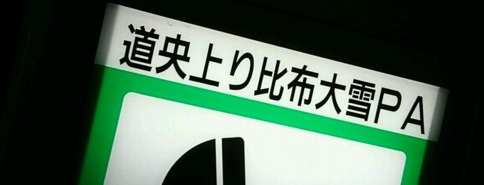 Pipputaisetsu PA (Up) is one of 道央自動車道.