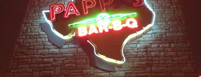 Pappas Bar-B-Q is one of Houston Good Foods.