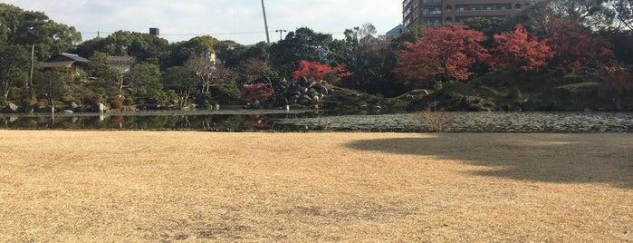 明治天皇御小休所枳殻邸 is one of 史跡・石碑・駒札/洛中南 - Historic relics in Central Kyoto 2.