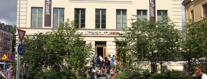 Litteraturhuset is one of Bybaby - Oslo.