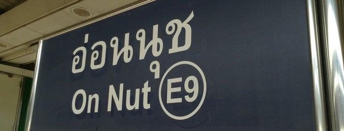 BTS On Nut (E9) is one of BTS Station - Sukhumvit Line.