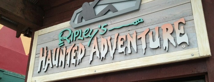 Ripley's Haunted Adventure is one of Visited Haunts.