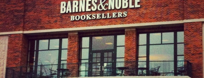 Barnes & Noble is one of Frequently visited.