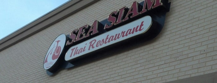 Sea Siam Thai Restaurant is one of Metroplex.