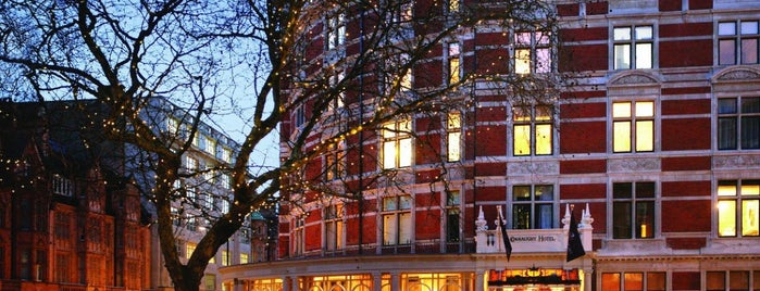 The Connaught is one of My London.