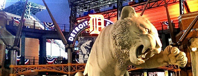 Comerica Park is one of Dan's Places.
