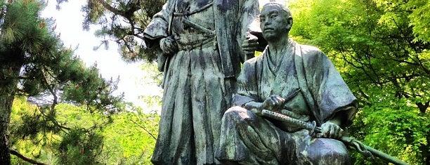 坂本龍馬・中岡慎太郎像 is one of 近現代.